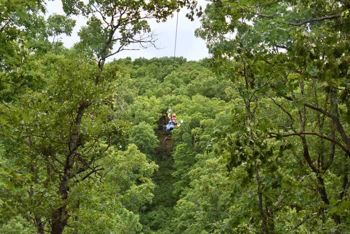 Eco Adventures zip line
