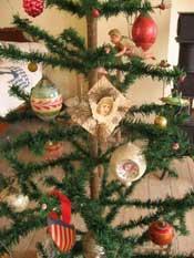 German Christmas ornaments at Deutschheim