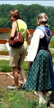 Deutschheim garden tour