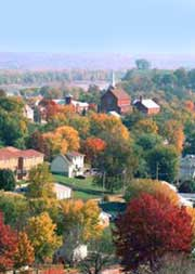 hermann missouri fall scene