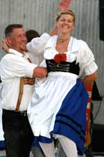 German dancers in Hermann Missouri