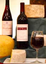 robller wine and cheese pairing