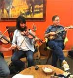 Jam session at Harvest Table Restaurant