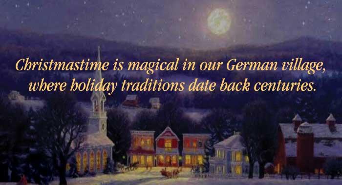 Christmastime in Hermann - Hermann Missouri
