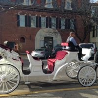 Holiday Carriage Ride in Hermann, Missouri